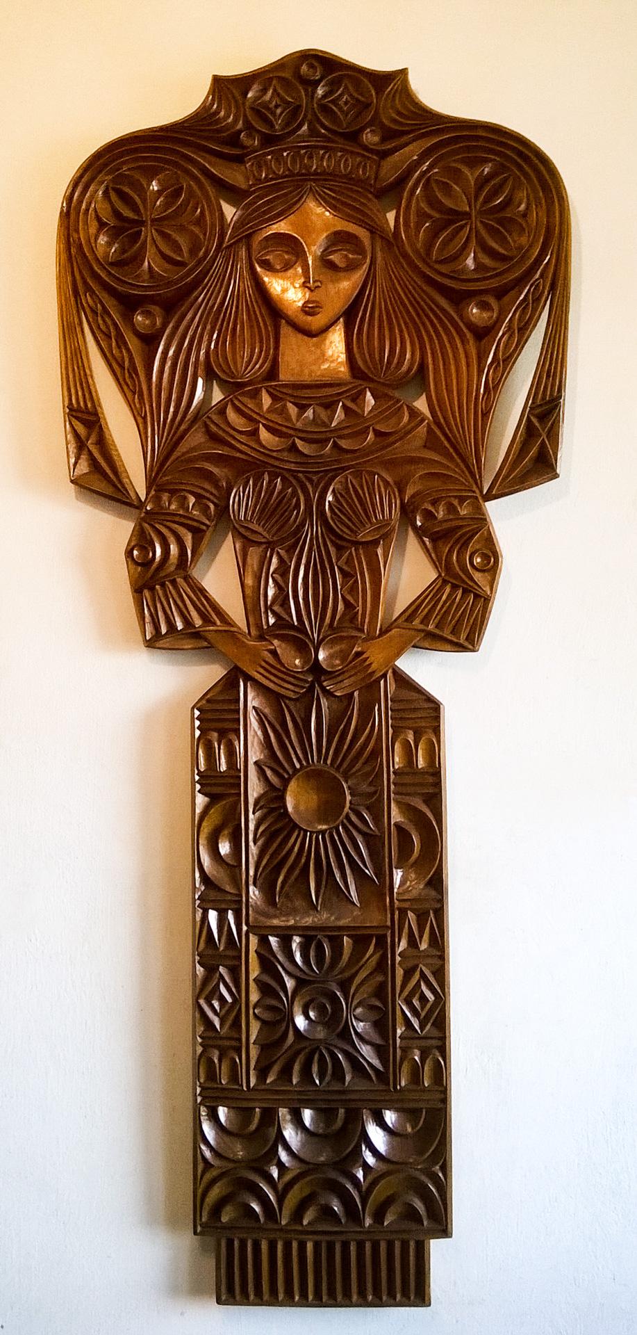 пано дърворезба Лазарка