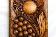 пано дърворезба Плодородие