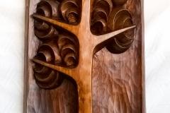 пано дърворезба Дърво на живота